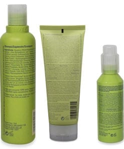 Aveda Be Curly Shampoo 8.5 Oz, Be Curly Conditioner 6.7 Oz, and Be Curly Style Prep 3.4 Oz Combo Pack