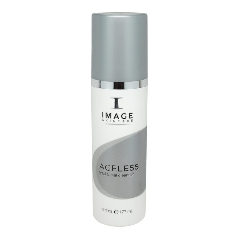 IMAGE Skincare Ageless Total Facial Cleanser 6 oz. front view of bottle
