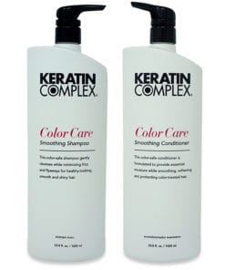 Keratin Complex Color Care Smoothing Shampoo 33.8 oz. and Color Care Smoothing Conditioner 33.8 oz. Combo Pack