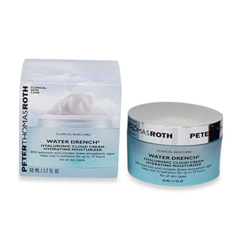best anti aging products for your 30s includes Peter Thomas Roth Water Drench Hyaluronic Cloud Cream Hydrating Moisturizer 1.7 oz product front view