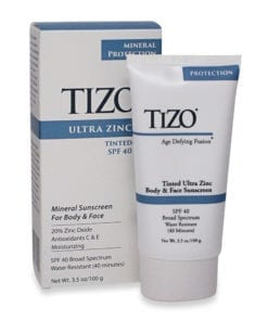 Tizo Age Defying Fusion tinted Ultra Zinc Body & Face Sunscreen SPF 40 3.5 Oz