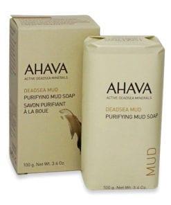 Ahava Dead Sea Purifying Mud Soap 3.4 oz.