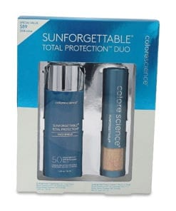 Colorescience Sunforgettable Total Protection Duo Kit SPF 50 1.8 oz.