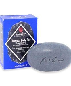 Jack Black Charcoal Body Bar Massaging Soap, 4.75 oz.