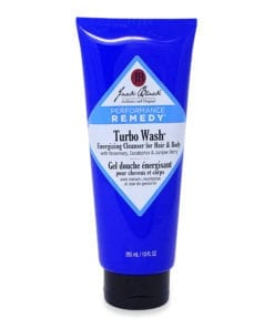 Jack Black Turbo Wash Energizing Cleanser Hair and Body, 10 oz.