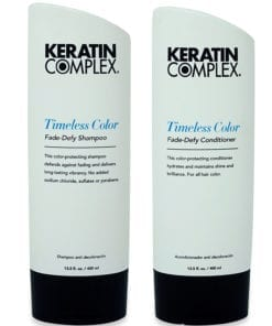 Keratin Complex Timeless Color Fade-Defy Shampoo 13.5 oz. and Timeless Color Fade-Defy Conditioner 13.5 oz. Combo Pack
