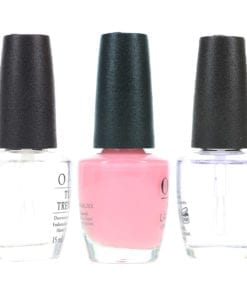 OPI It's A Girl NLH39 .5 oz, Top Coat T30 .5 oz & Natural Nail Strengthener T60 .5 oz Pack