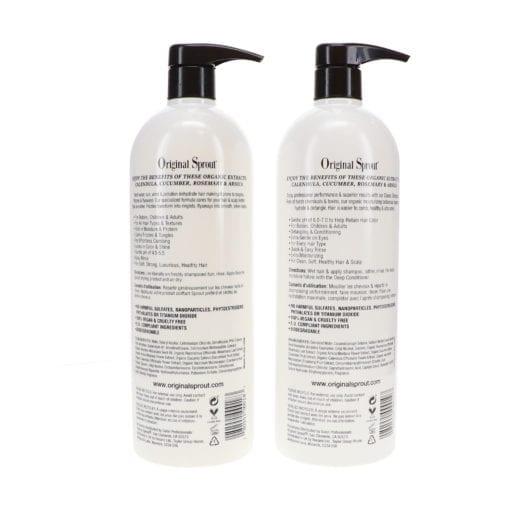 Original Sprout Classic Shampoo 33 oz & Deep Conditioner 33 oz Combo Pack