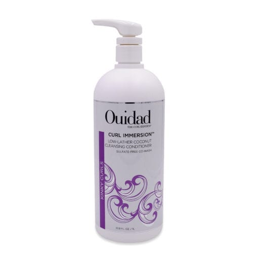 Ouidad Curl Immersion Low-Lather Coconut Cleansing Conditioner, 33.8 oz.