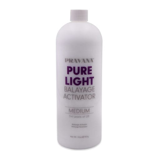 Pravana Pure Light Balayage Activator Medium Lift, 32 oz.