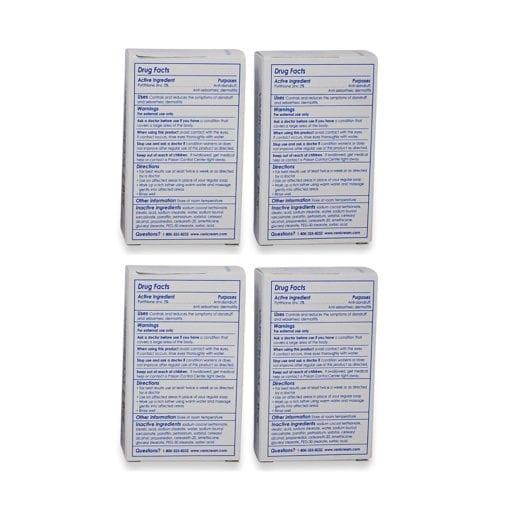 Vanicream Pyrithione Zinc Z-Bar Medicated Cleansing Bar 3.36 oz. 4 Pack