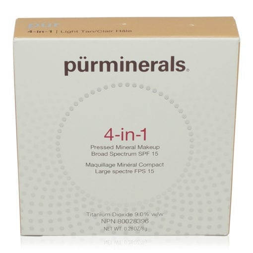 PUR 4 In 1 Pressed Mineral Makeup Light Tan 0.28 oz.