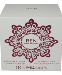 REN Skincare Moroccan Rose Otto Sugar Body Polish 11.2 Oz