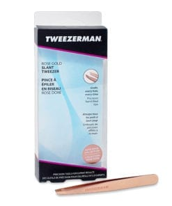 Tweezerman Rose Gold Slant Tweezer
