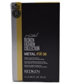 Redken 08 Metal Fix Metallic Liquid Pomade  2 x 0.68 fl Oz
