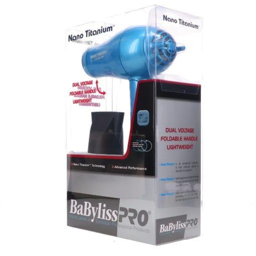 BaBylissPRO Nano Titanium Travel Size Hair Dryer