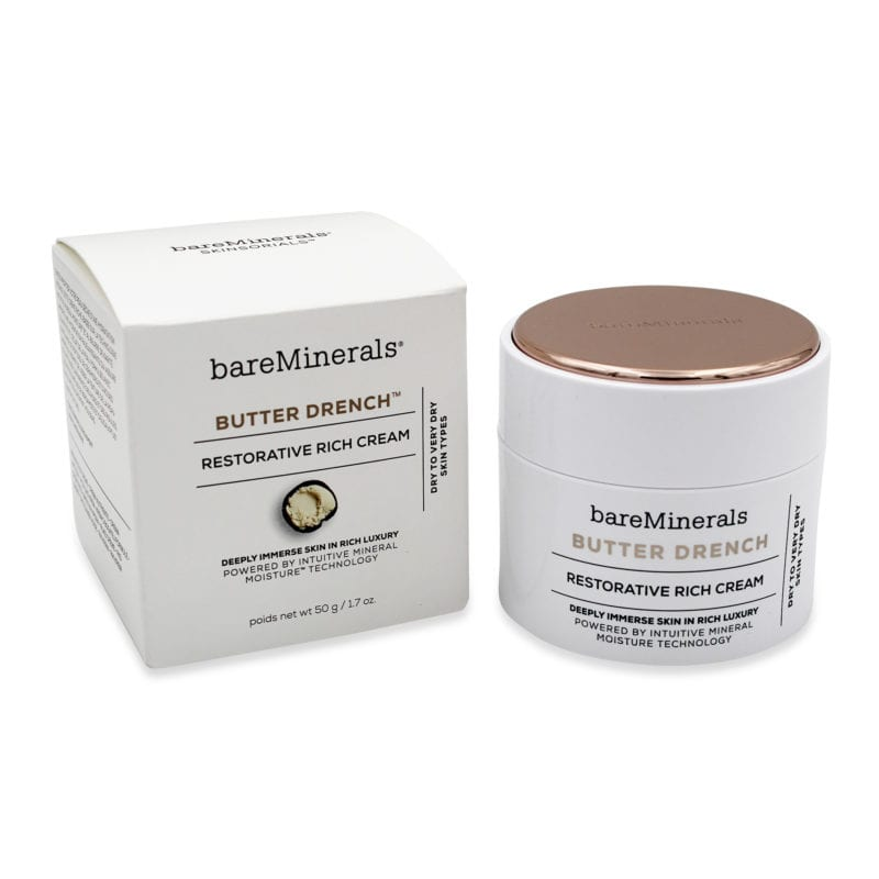 bareMinerals Butter Drench Restorative Rich Cream 1.7 oz front view of product