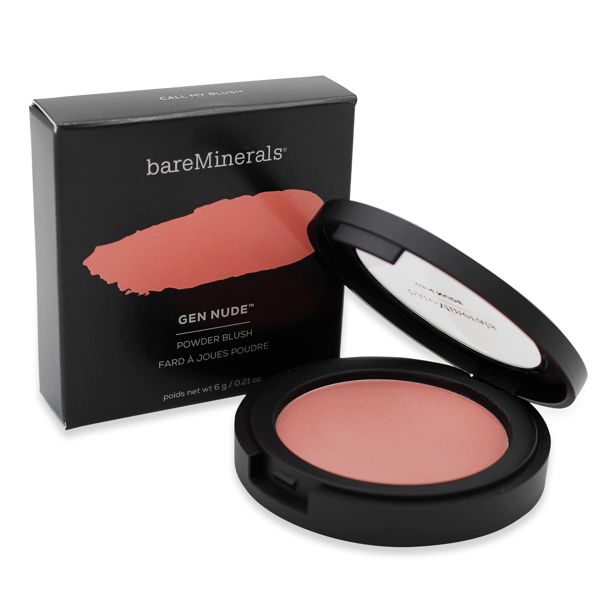 bareMinerals Gen Nude Powder Blush , Call My Blush , 6 g