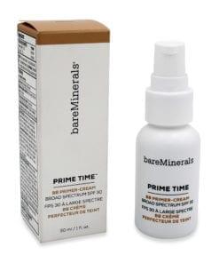 bareMinerals Prime Time BB Primer-Cream Daily Defense Broad Spectrum SPF 30 Medium 1 oz