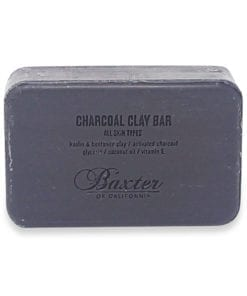 Baxter of California Deep Cleansing Body Soap Bar Charcoal Clay, 7 oz.