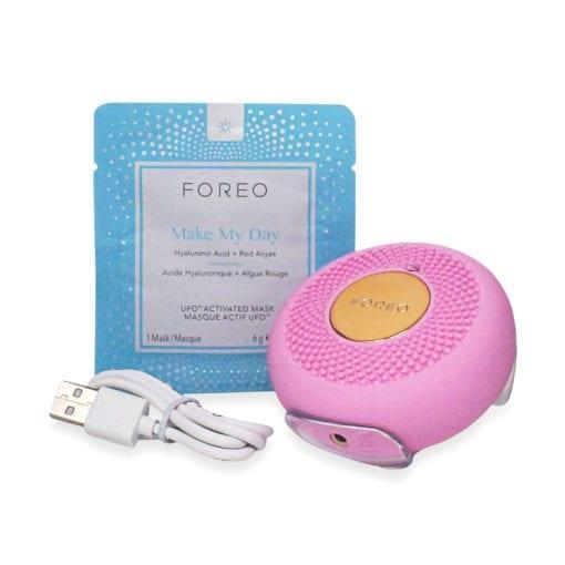 FOREO UFO Smart Mask Treatment Device - Mini Pink Pearl