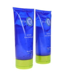 Its A 10 Miracle Firm Hold Gel 5 oz 2 Pack