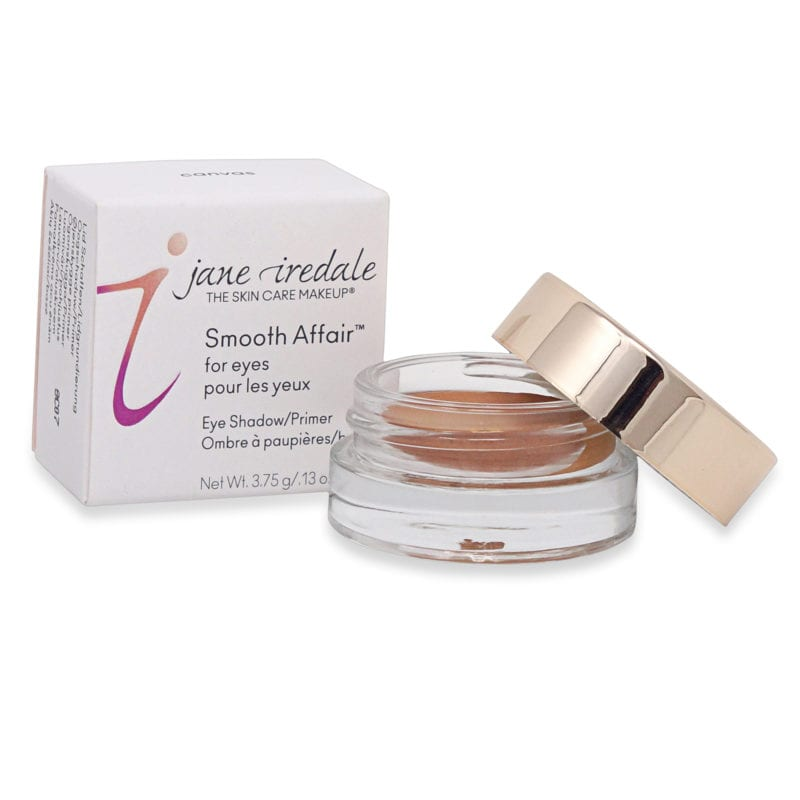 Jane Iredale Smooth Affair for Eyes Canvas makeup for oily skin product front view