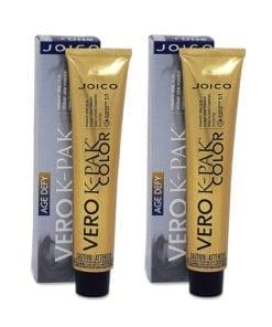 Joico Vero K-Pak Age Defy Hair Color 4NN+ Dark Natural Natural Brown (2 Pack)