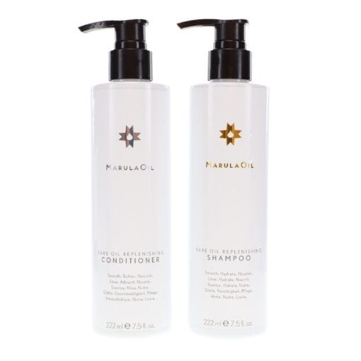 Paul Mitchell Marula Oil Rare Oil Replenishing Shampoo and Conditioner 7.5 oz.