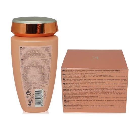 Kerastase Discipline Bain Fluidealiste No Sulfate 8.5 Oz & Masque Maskeratine 6.8 Oz Combo