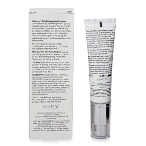 Obagi SUZANOBAGIMD Retivance Skin Rejuvenating Complex 1 oz