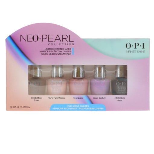OPI Neo-Pearl Collection Infinite Shine Mini 5 Pack