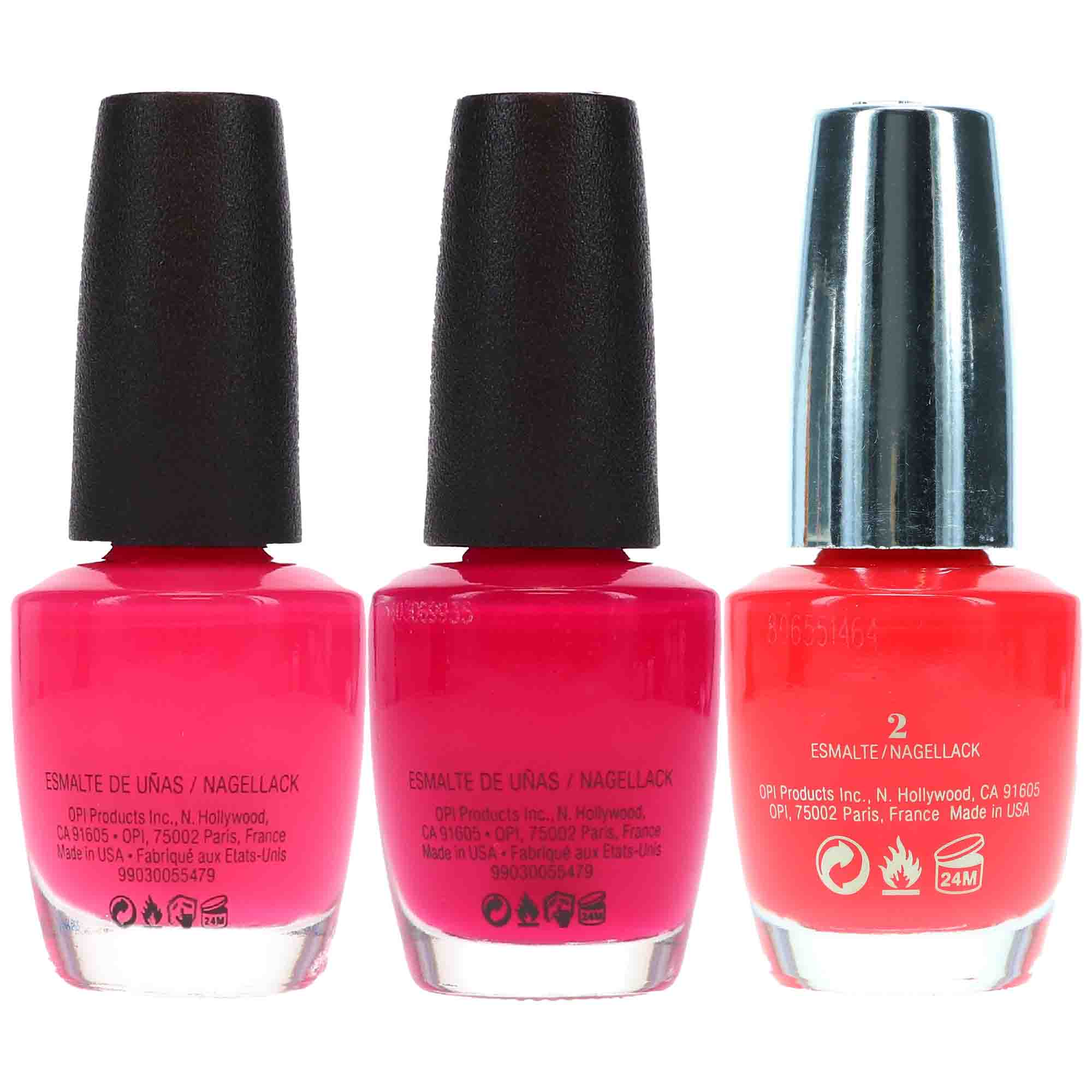 Opi Strawberry Margarita 5 Oz Opi Koala Beary 5 Oz Opi She Went On And On And On 5 Oz Pink Combo Set Lala Daisy