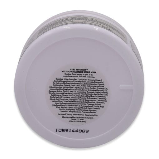 Ouidad Curl Recovery Melt Down Extreme Repair Mask, 6 oz.