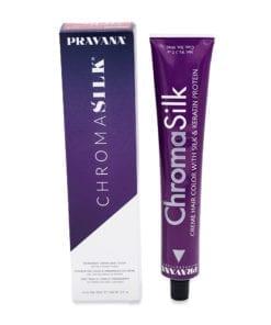 Pravana ChromaSilk Creme Hair Color 7.52 Mahogany Beige Blonde, 3 oz.