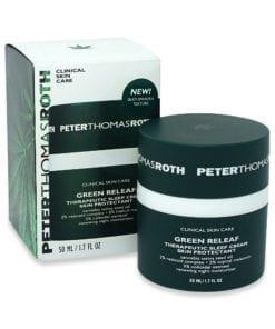 Peter Thomas Roth Green Releaf Sleep Cream Skin Protectant, 1.7 oz.
