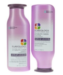 Pureology Hydrate Sheer Shampoo 8.5 oz and Conditioner 8.5 oz Combo Pack