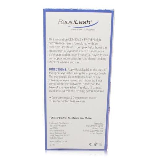 Rapidlash Eyelash Enhancing Serum with Hexatein 1 Complex  0.1 Oz