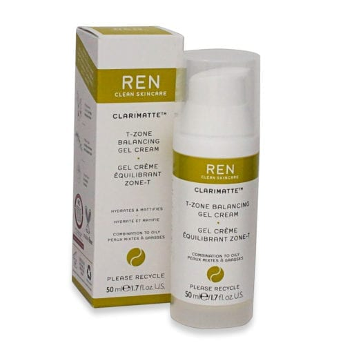 REN Skincare Clarimatte T-Zone Balancing Gel Cream 1.7 Oz