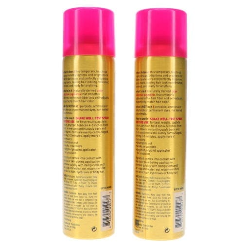 Style Edit Dark Blonde Root Concealer Touch Up Spray 4 oz 2 Pack