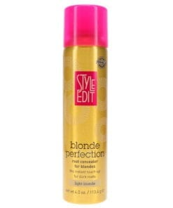 Style Edit Light Blonde Root Concealer Touch Up Spray 4 oz 2 Pack