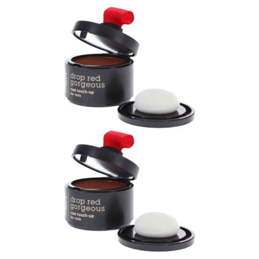 Style Edit Drop Red Gorgeous Touch Up Powder Dark Red 0.13 oz 2 Pack