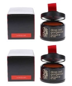 Style Edit Drop Red Gorgeous Touch Up Powder Medium Red 0.13 oz 2 Pack