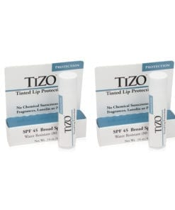 TiZO Solar Protection Formula LIPTECT SPF 45  4.5g - 2 Pack