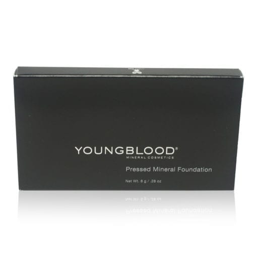 Youngblood Pressed Mineral Foundation Warm Beige .28 oz.