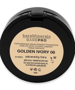 bareMinerals BAREPRO Performance Wear Powder Foundation Golden Ivory 0.34 oz
