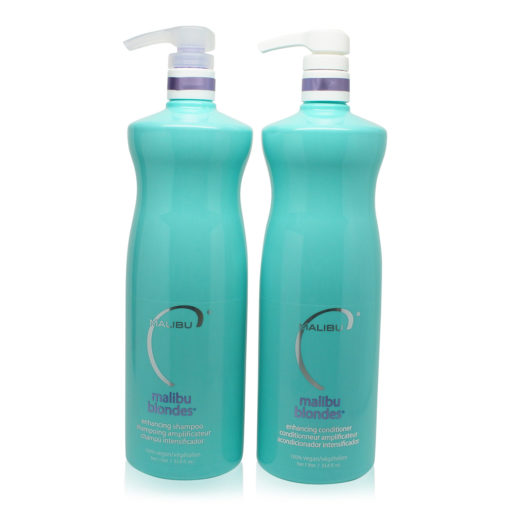 Malibu C Blondes Enhancing Shampoo and Conditioner Combo - 32Oz Each