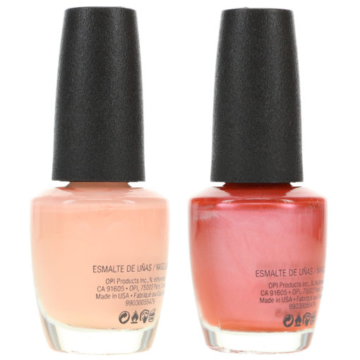 OPI Chicago Champagne Toast NLS63 0.5 oz. and OPI Bubble Bath NLS86 0.5 oz. Nude Combo Set