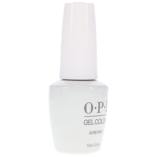 OPI GelColor Alpine Snow 0.5 oz