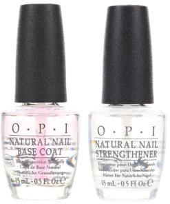 OPI Natural Nail Base Coat 0.5 oz. and Natural Nail Strengthener 0.5 oz. Combo Pack